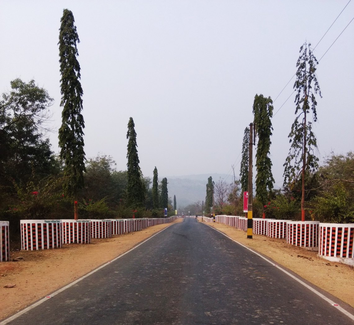 Bimbisar Path in Rajgir